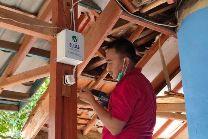 UI pasang alarm peringatan gempa di Kabupaten Sukabumi