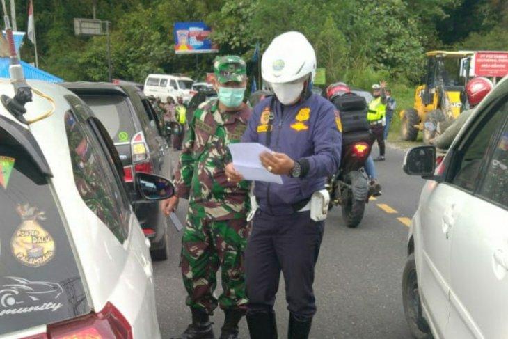 Pemerintah gelar operasi  yustisi di pintu masuk Kabupaten Karo