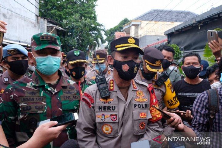 Kodim Jakarta Pusat patroli gabungan terkait lturunnya arangan FPI