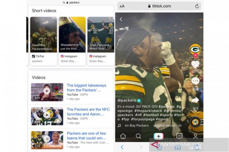 Google coba fitur pencarian video pendek TikTok dan Instagram