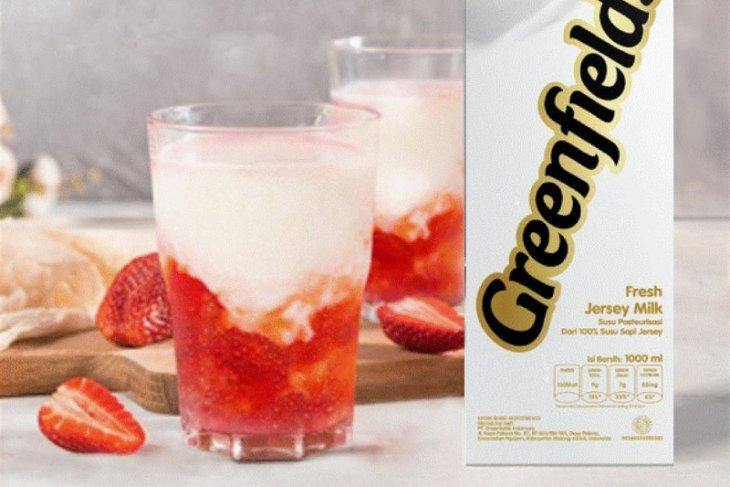 Bersantai sambut 2021, coba buat Korean Strawberry Milk