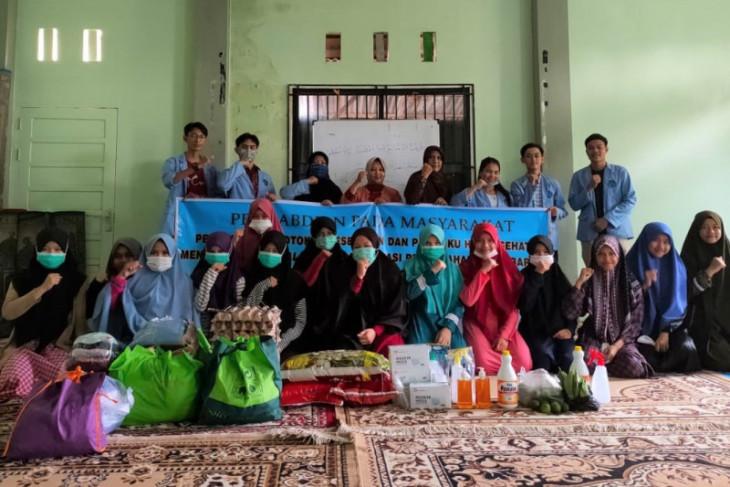 Tim Dosen Sipil Polnep gelar kegiatan pengabdian masyarakat cegah COVID-19