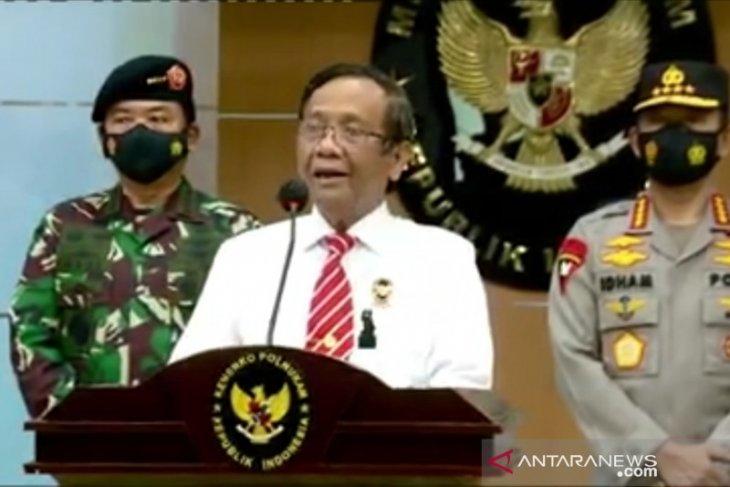 Pemerintah resmi melarang semua kegiatan FPI