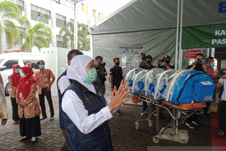 Gubernur Jatim resmikan RS Paru khusus COVID-19 di Jember