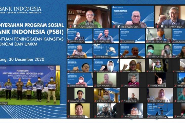 BI Banten bantu 18 UMKM melalui Program Sosial Bank Indonesia