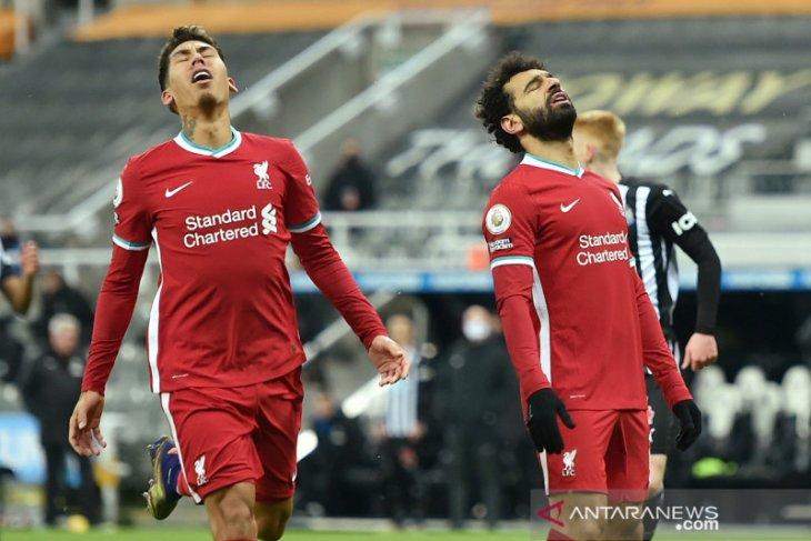 Liga Inggris, Liverpool tutup tahun 2020 di puncak meski kehilangan sisi klinis