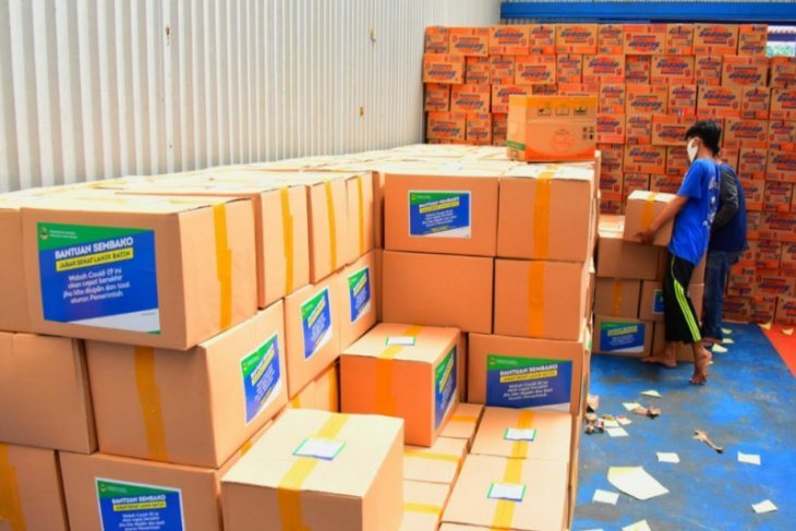 Pemerintah akan bagikan bansos 11.212 ton beras selama PPKM Darurat Jawa-Bali