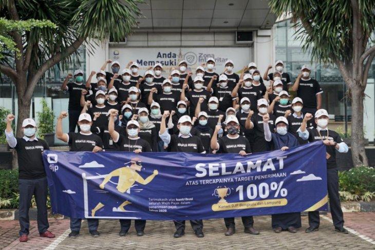 Kanwil DJP Bengkulu Lampung lampaui target penerimaan pajak 2020