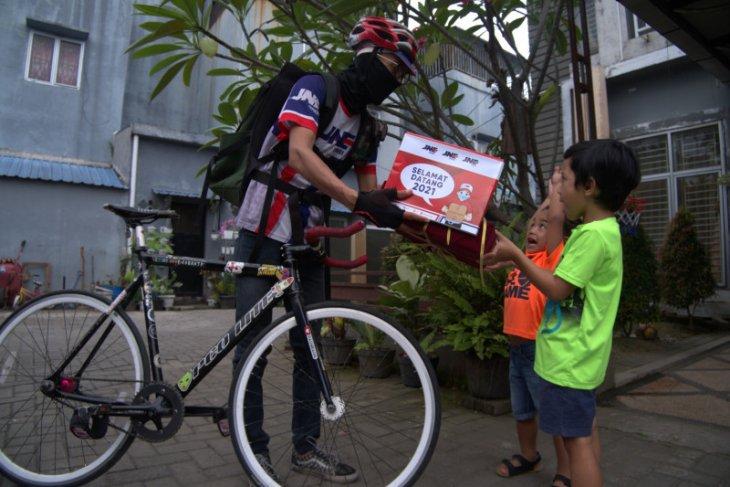 Layanan Kurir Sepeda JNE