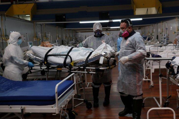 Brazil catat penambahan1.283 kasus kematian COVID-19