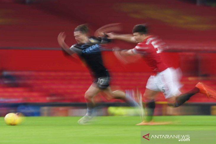 Solskjaer belum mau sebut United sebagai penantang gelar Liga Inggris