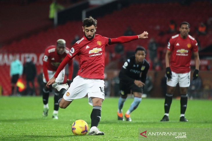 Manchester United bekuk Aston Villa 2-1