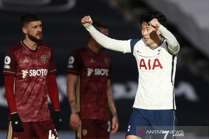 Liga Inggris: Tottenham hajar Leeds United 3-0
