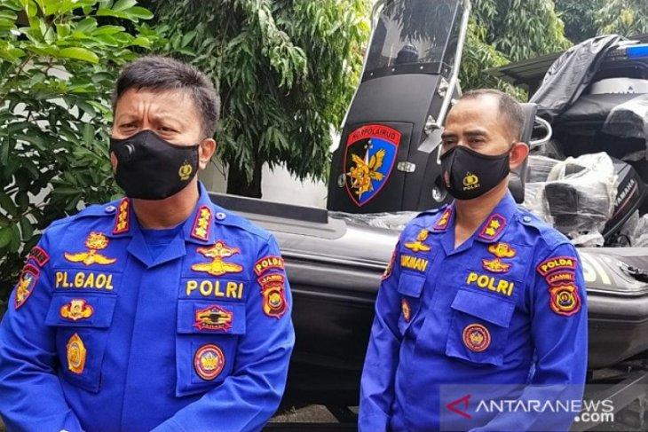 Ditpolairud Polda Jambi mendapat bantuan kapal patroli dari Baharkam