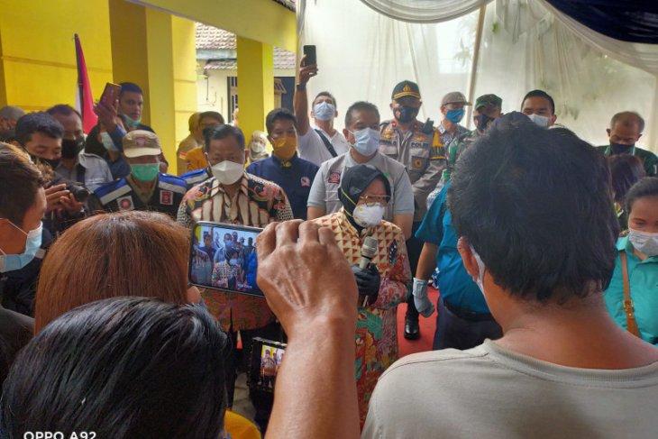 Kunker di Mojokerto, Mensos RIsma minta anak jalanan tak terlibat narkoba