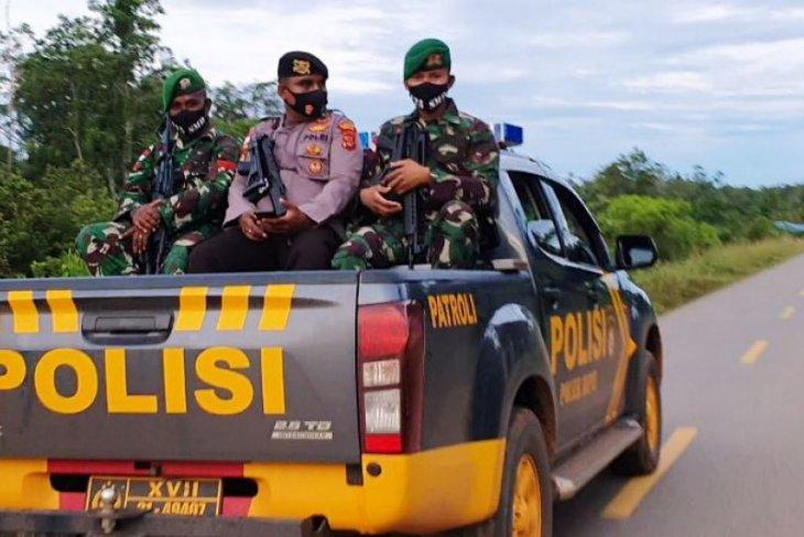 TNI-Polri gelar patroli bersama di perbatasan