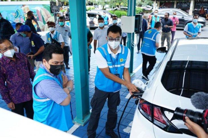 Di Bali, Erick: ongkos mobil listrik Jakarta-Bali hanya Rp200 ribu