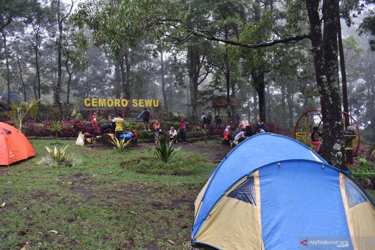Liburan tahun baru di Cemoro Sewu
