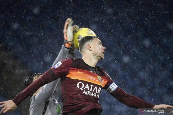 Liga Italia: Roma menang tipis atas Sampdoria berkat gol Edin Dzeko