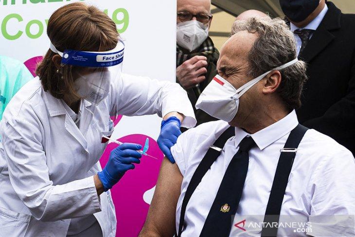 Pasokan vaksin tertunda, Italia gugat Pfizer dan AstraZeneca ke pengadilan