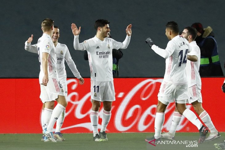 Klasemen Liga Spanyol:  Real Madrid buka 2021 rebut posisi puncak