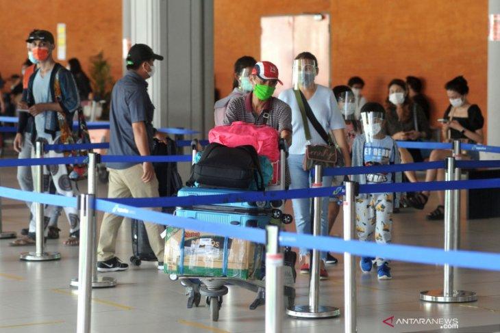 13 ribu penumpang  tinggalkan Bali lewat bandara