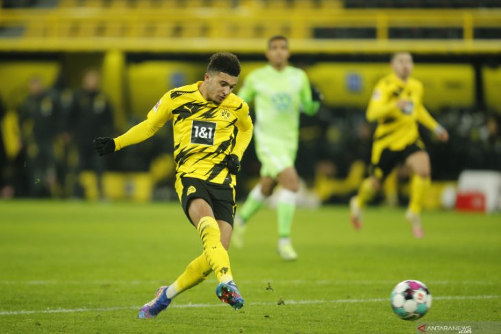 Dortmund membuka 2021 dengan kemenangan 2-0 atas Wolfsburg