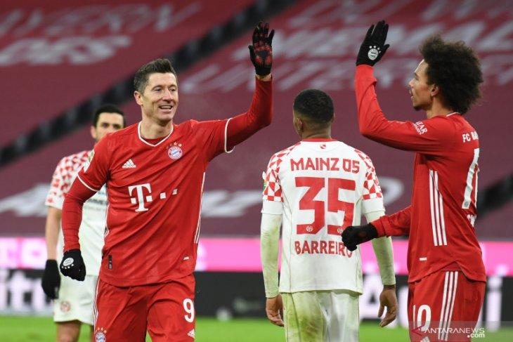 Klasemen Liga Jerman: Bayern Munich hanya sebentar dilengserkan Leipzig