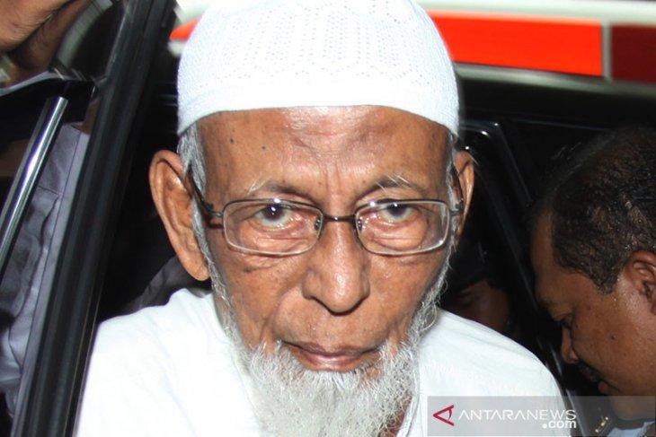 Kesehatan Abu Bakar Baasyir sempat turun menjelang bebas 8 Januari