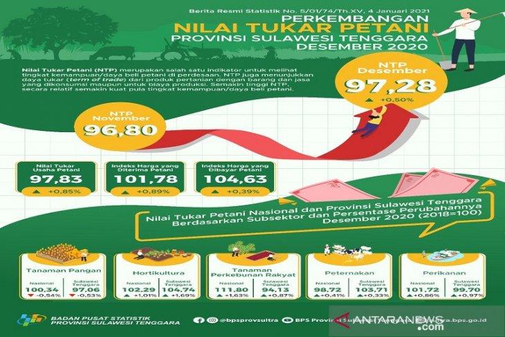NTP Provinsi Maluku Desember 2020 naik 066 persen