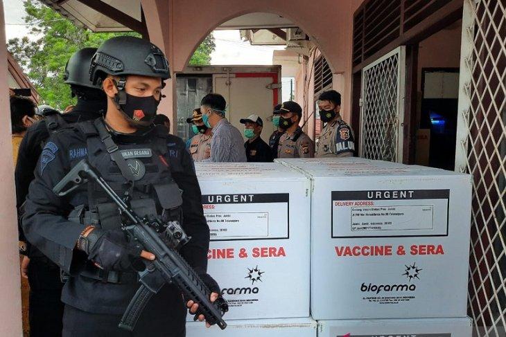 20 ribu dosis vaksin COVID-19 tiba di Jambi