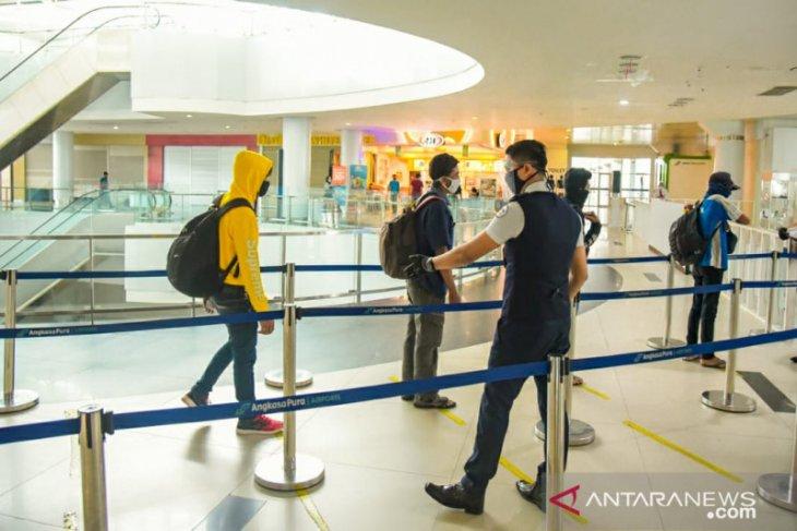 Hasil rapid test antigen di Bandara Sepinggan 48 calon penumpang reaktif