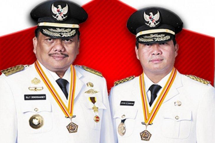 Presiden Jokowi lantik Gubernur-Wagub Sulawesi Utara periode 2021-2024