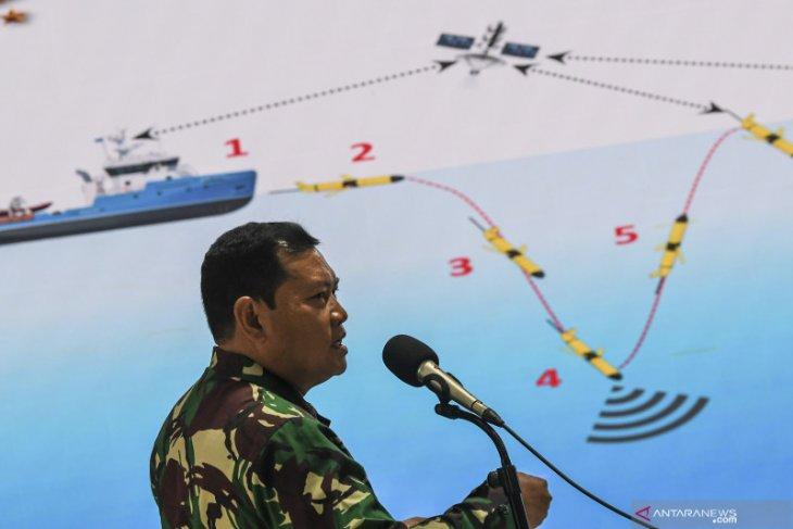 KSAL Yudo Margono beri motivasi penyelam terlibat operasi SAR Sriwijaya Air