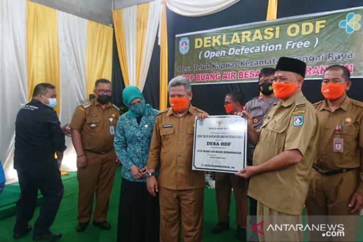 Desa Teluk Kapuas deklarasikan jadi Desa ODF