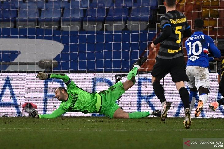 Liga Italia: Inter Milan kalah di kandang Sampdoria