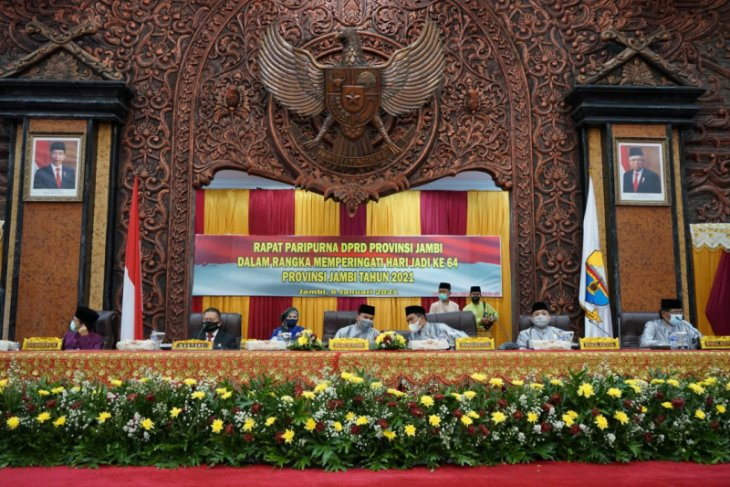 DPRD gelar sidang paripurna HUT-64 Provinsi Jambi