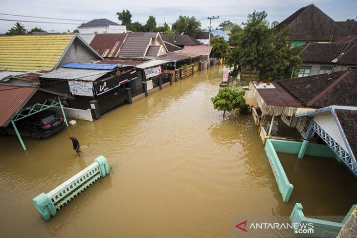 Banjir Di Desa Dalam Pagar Ulu