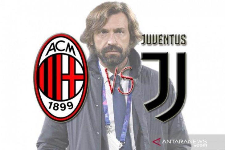 Pirlo ngotot Juventus harus menang saat melawan mantan klubnya AC Milan