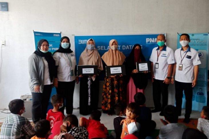PNM serahkan bantuan paket belajar ke Taman Karakter Al Quran Medan Helvetia
