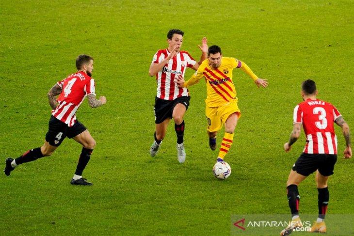 Piala Super Spanyol, Messi ingin main di final meski alami cedera