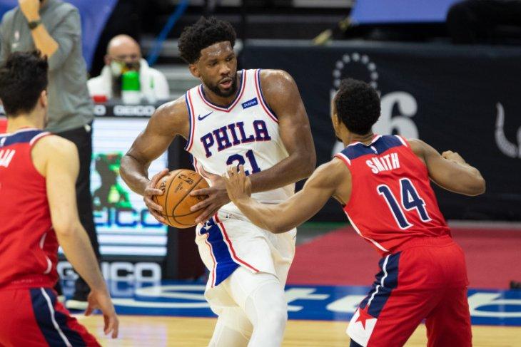 60 poin Bradley Beal tak bisa hindarkan 76ers kalah dari Wizards