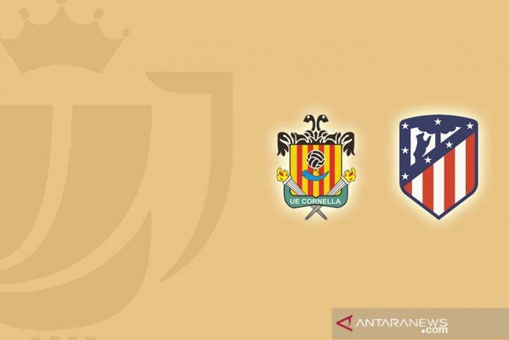 Atletico Madrid diusir tim strata ketiga dari Copa del Rey