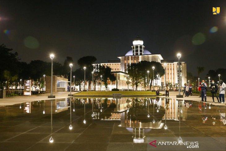 Presiden resmikan renovasi masjid Istiqlal