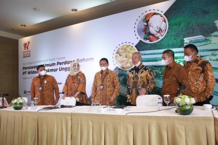 Perusahaan ternak ayam Widodo Makmur Unggas siap melantai di bursa