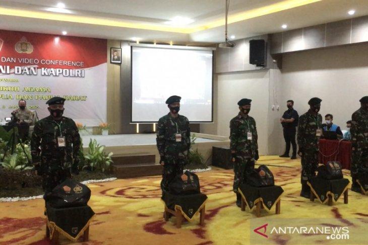 Panglima TNI lakukan konferensi video dengan tokoh agama Papua dan Papua Barat
