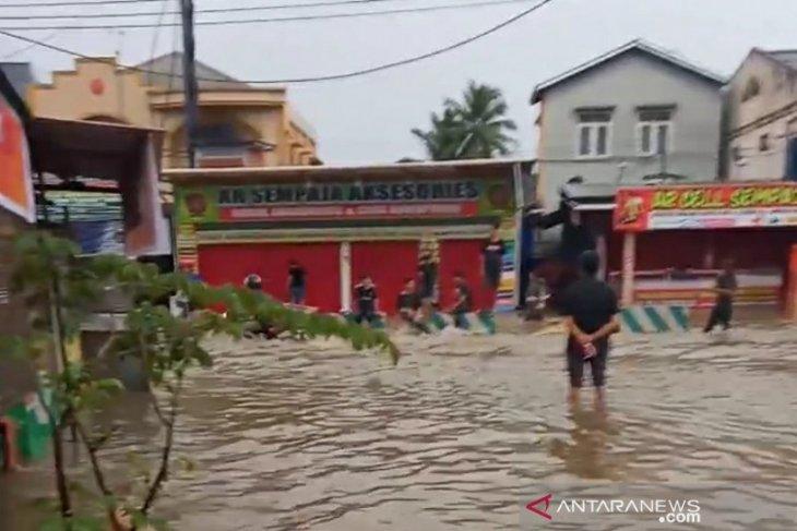 Sebagian wilyah Samarinda terendam