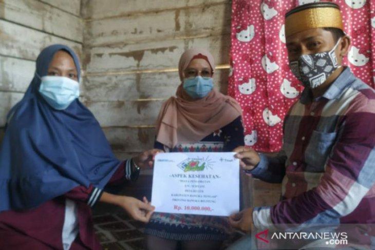 PT Timah bantu warga Kulur Bangka Tengah menderita kanker ovarium ganas