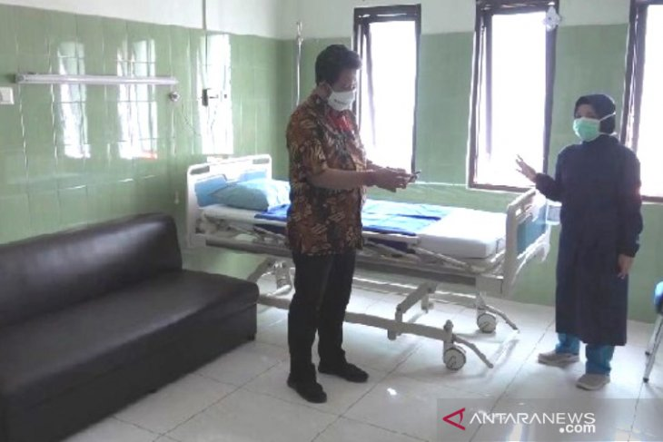 RSUD Kota Madiun sediakan ruang isolasi tambahan pasien COVID-19