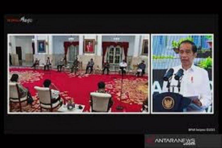 Presiden Jokowi ajak masyarakat bersyukur Indonesia mampu kelola COVID-19